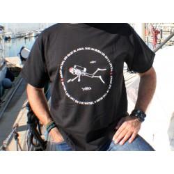 Camiseta Mal Día Bajo el Agua