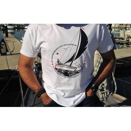 Camiseta Mejior un día en el mar que un buen día en la oficina
